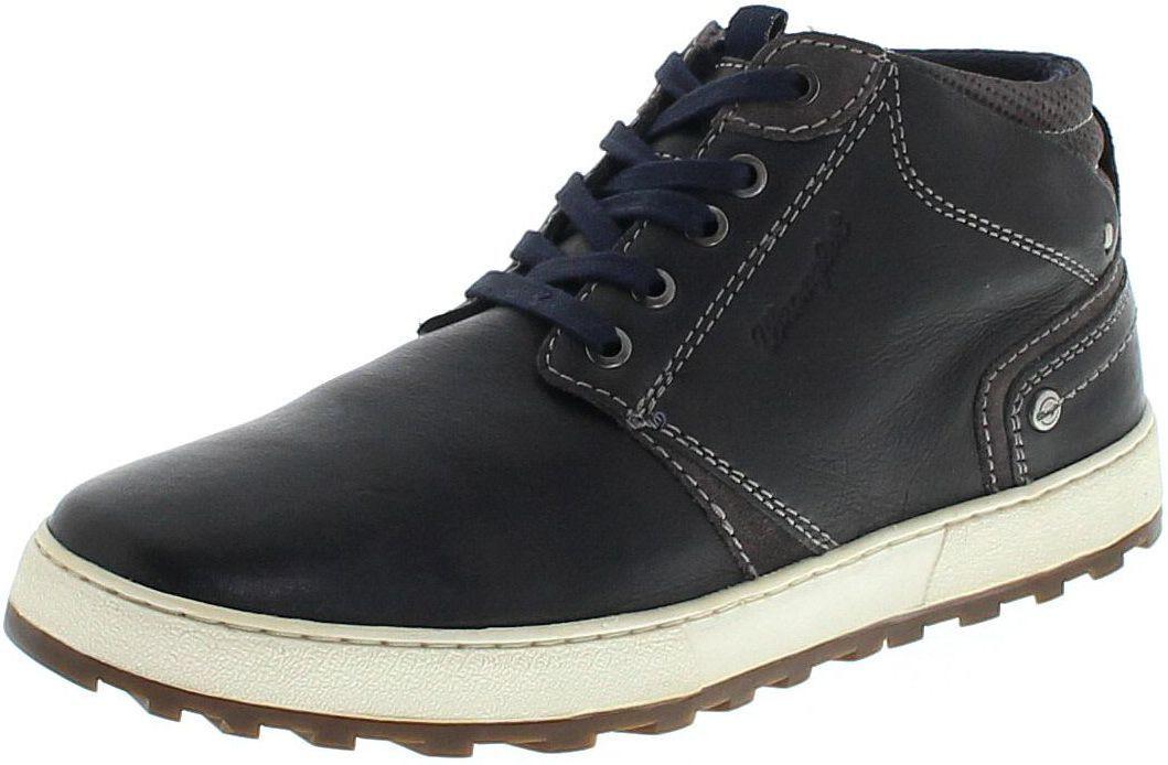 WRANGLER Bruce Desert wm172170 Dark Navy/uomo normalissime Blu/High Sneaker