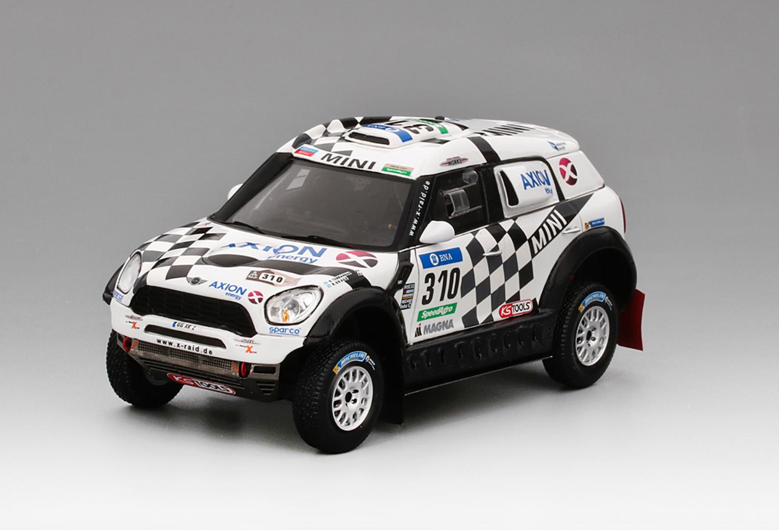 1 43 True Scale Models TSM Mini Countryman 2016 2016 2016 Dakar Rally   TSM430235 f9ff03