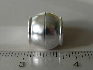 Large-Sterling-Silver-925-Austrian-Multiple-Strand-Torsade-Necklace-Clasp