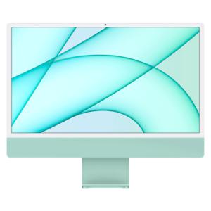 "Apple 24"" iMac 4.5K Retina Display M1 8GB 256GB SSD Green MGPH3LL/A 2021 Model"