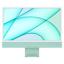"thumbnail 1 - Apple 24"" iMac 4.5K Retina Display M1 8GB 256GB SSD Green MGPH3LL/A 2021 Model"