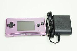 Nintendo-Gameboy-Micro-Console-REFURBISHED-LIKE-NEW-Purple-Warranty