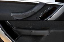 BLACK STITCH FITS CITROEN C4 GRAND PICASSO 06-13 2X FRONT DOOR HANDLE COVERS