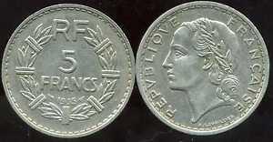5-francs-LAVRILLIER-1935-NICKEL