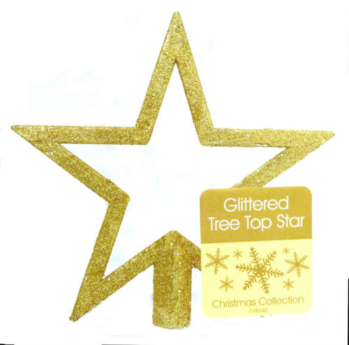 Papillons tree top star gold