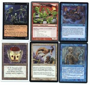 MAGIC-6-Belles-Cartes-Voir-scan-Lot-N-MG-208