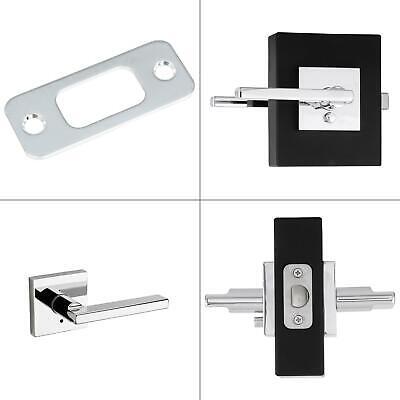 Bed Bath Bedroom Bathroom Locking Halifax Polished Chrome Door Knob Handle Lock