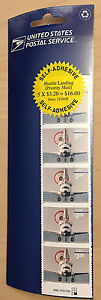 US-Postal-Service-Stamps-Shuttle-Landing-5-Stamps-Free-U-S-Shipping
