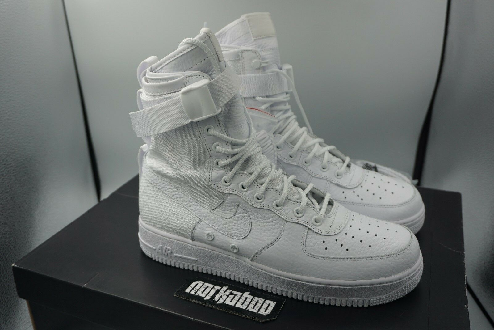 release date: 6cc5f 0f6c6 Nike SF AF1 Air Force 1 Field QS Triple White White White ComplexCon  903270-100