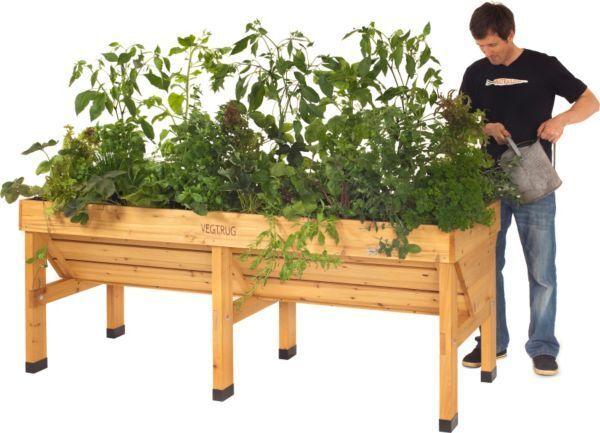 VegTrug Hochbeet, versch. Ausführungen, Pflanzenbeet, Gemüsebeet, Frühbeet