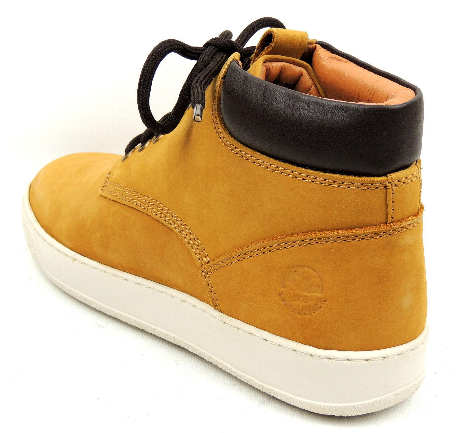 II.WAHL LUMBERJACK  Robuster  Herren Sneaker  LEDER  Robuster yellow  Gr. 43  statt 99,95 af2ed4