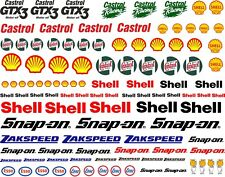 Waterslide Transfer 1:10 1:18 1:32 1:72 Scale RC Slotcar Scalextric Model Decals