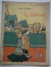 Benjamin RABIER. L'Album. Benjamin Rabier intime. 1902.