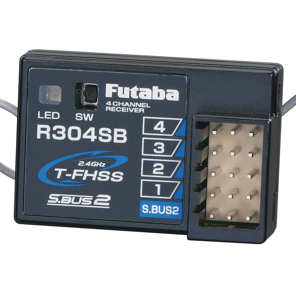 Futaba R304SB S.Bus2 4-Channel T-FHSS Telemetry Rx FUTL7680