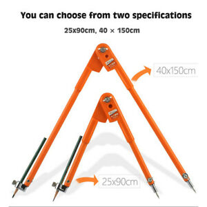 Precision Pencil Compass For Woodworking Scribing Marking Drawing Measuring Tool