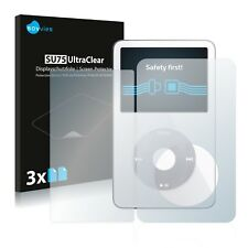 6x Savvies Screen Protector for Apple iPod classic video (Front + Back, 5th.
