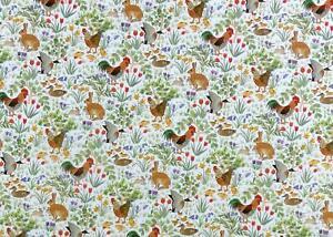 Dollhouse Wallpaper Country Springtime