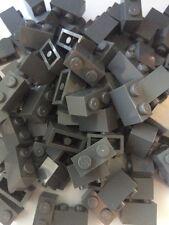 Lego Bulk Lot Of 50 1x2 Bricks Bluish Dark  Grey Gray NEW