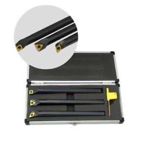 3-12mm K20 Tungsten Carbide 100mm Rod Boring Bar Lathe CNC Tool Maker Endmill UK