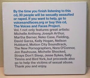 Voices-amp-Faces-Project-Vol-1-music-CD-Neko-Case-Hubbard-Shocked-York-compilation