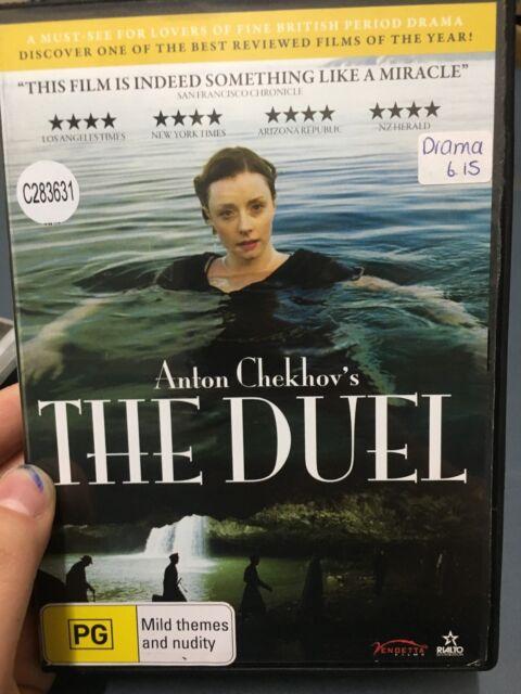 Anton Checkov's The Duel ex-rental region 4 DVD (2010 drama movie)