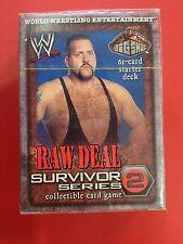 Big Show WWE Raw Deal Raw Deal Survivor Series 2 Sealed Starter Deck New WWF NIB