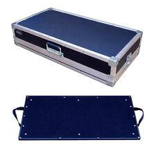 "Effects Pedal Board in 1/4"" Ply Light Duty ATA Case - Inside Dims 32""x16""x6"" H"