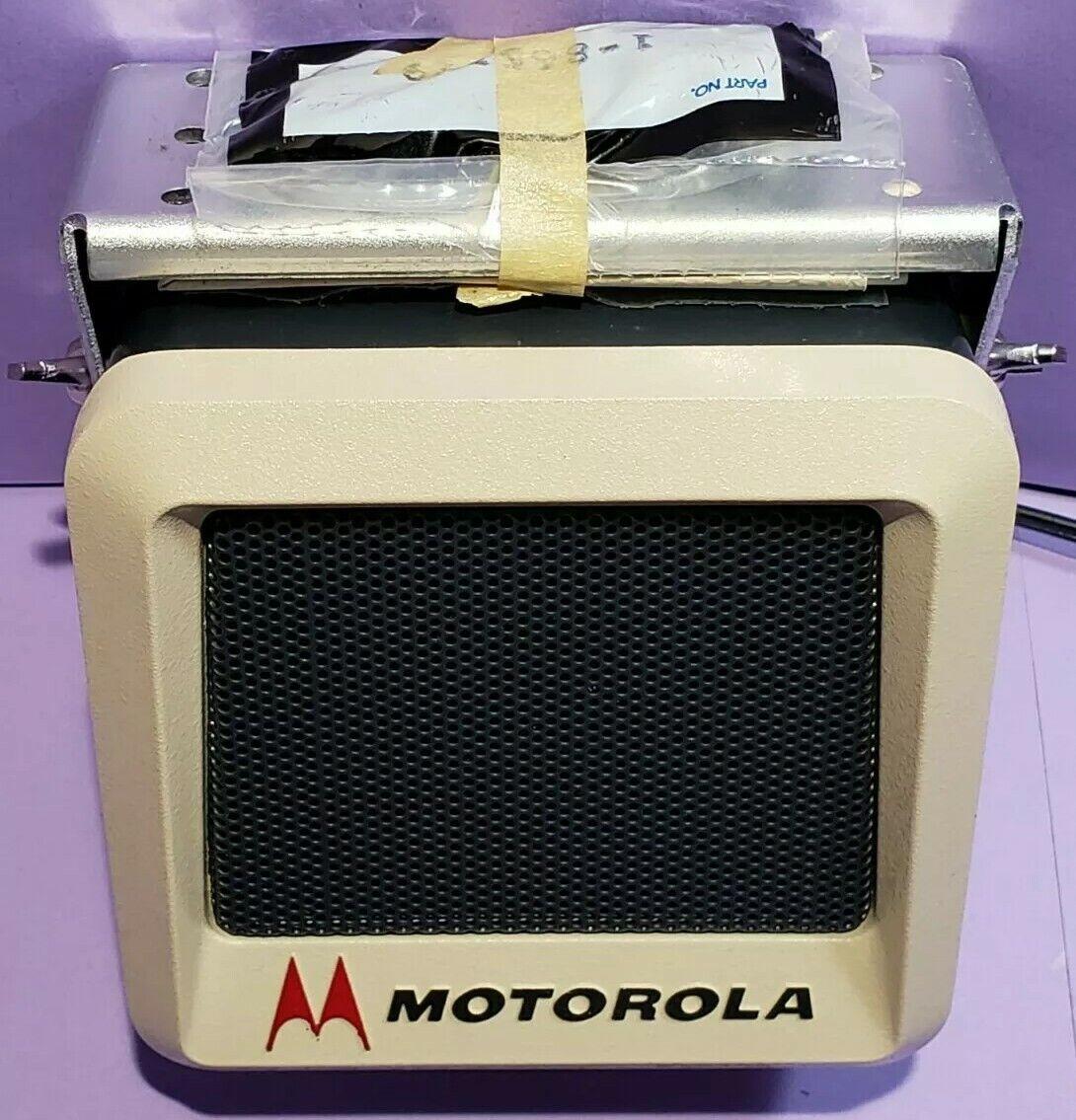 NOS Motorola vintage speaker 16-Pin GM300 Maxtrac CDM1250 Radius CM300 PM400. Buy it now for 375.00
