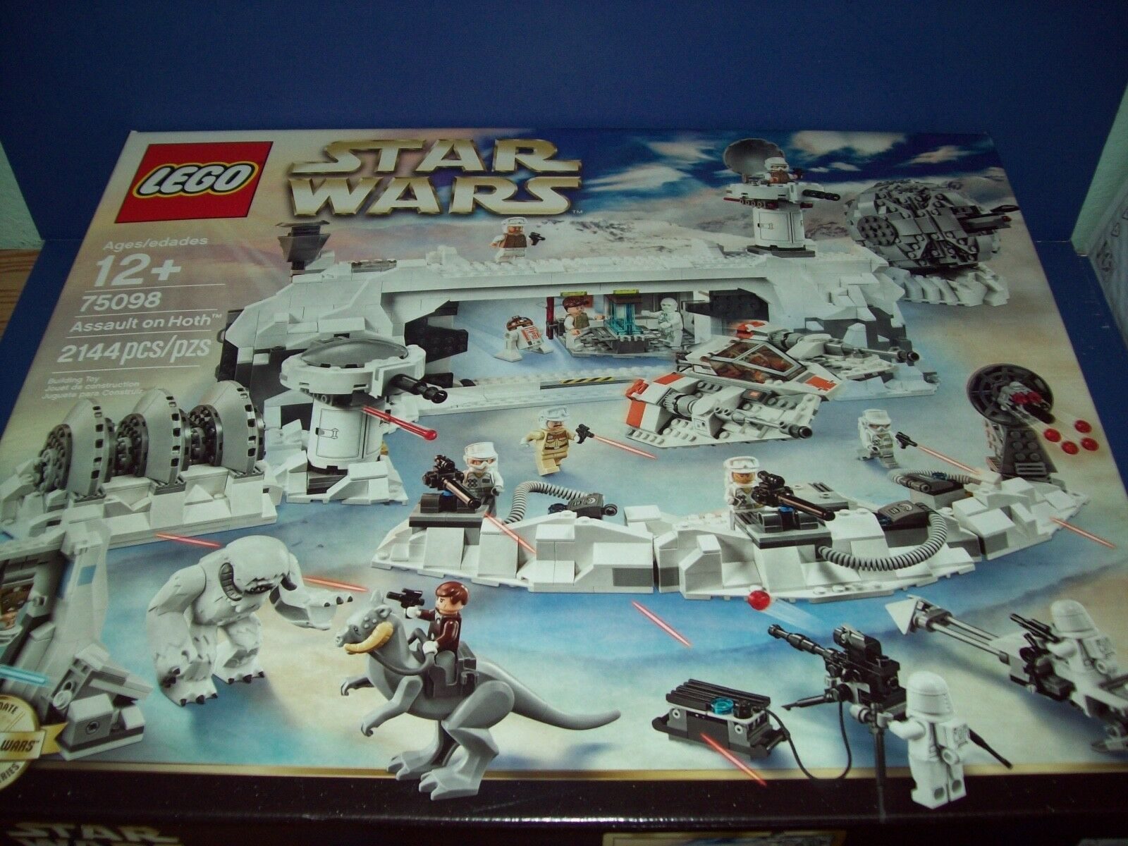 LEGO 75098 estrella guerras UCS  ASSAULT ON calienteH NISB nuovo Exclusive  varie dimensioni
