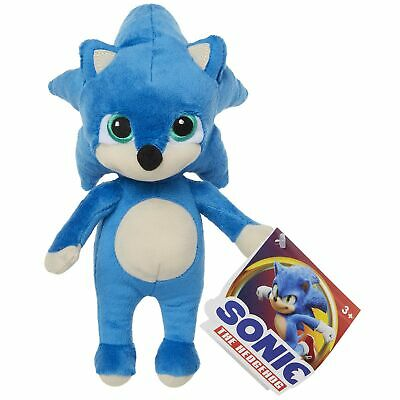 Sonic The Hedgehog Movie 2020 Baby Sonic 8 5 Inch Extra Soft Plush Toy 192995400283 Ebay