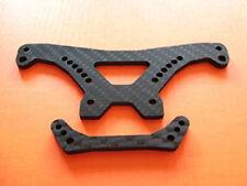 HD Carbon Dämpferbrücke h + v für Kyosho V-ONE RRR SIII