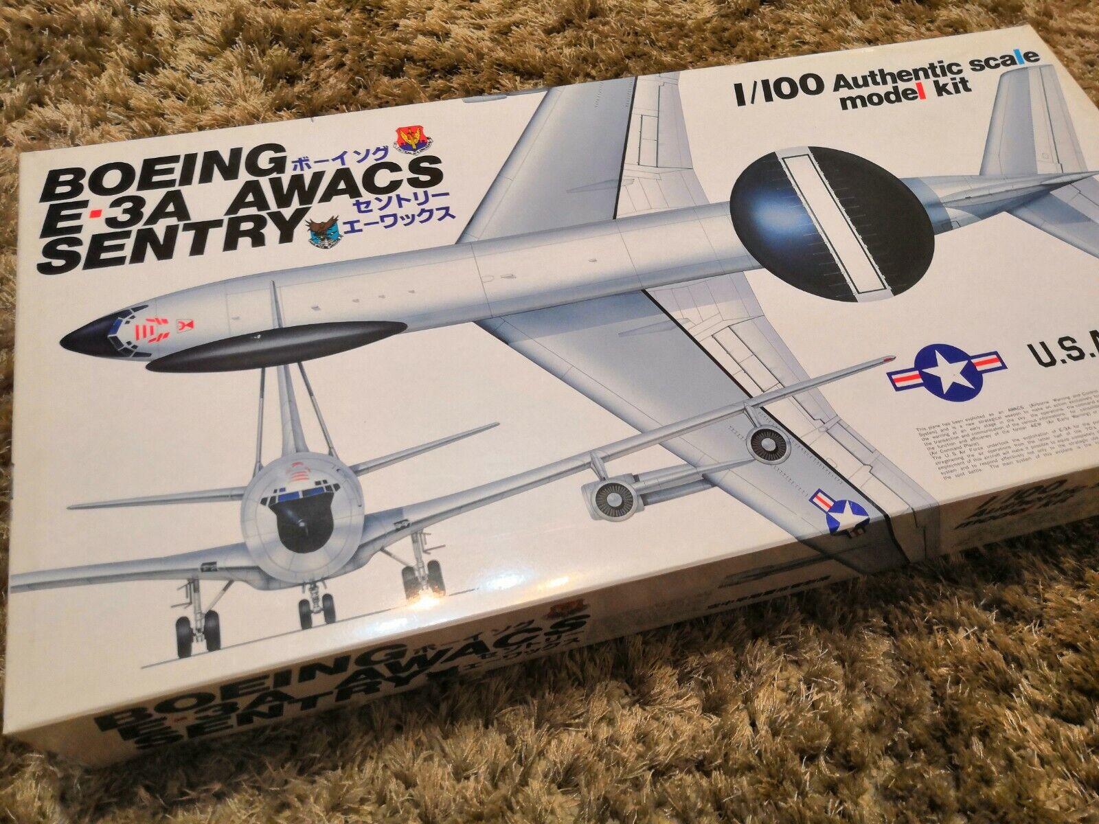 en venta en línea DOYUSHA KIT aereo aereo aereo BOEING E-3A AWACS 1 100 n. 100-E3-4,000  oferta especial