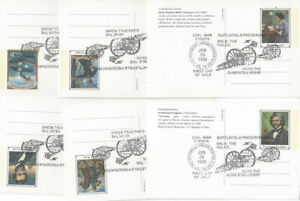 UX200-UX219-20c-Civil-War-Postal-Cards-w-FD-Cancel-of-Shiloh