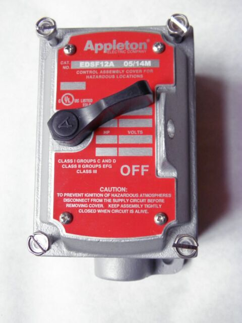 APPLETON EDSC271SA EXPLOSION PROOF COVER BOX