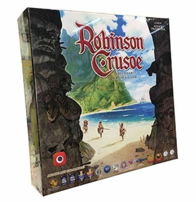 Robinson CRUSOE 4th EDN tavola gioco-AVVENTURE SULL'ISOLA MALEDETTA   prodotto di qualità