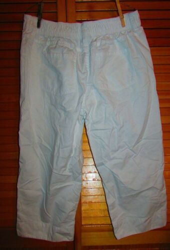 Basic Editions Women Athletic Jean Khaki Capri sz Medium XXL u pick pr L XL