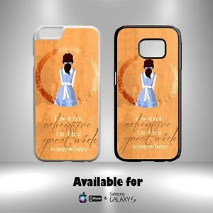 Beauty And The Beast Belle I Want An Adventure Quotes Hard Phone