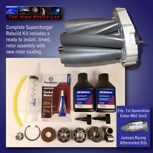 Dettagli su Supercharger Rebuild Kit Jackson Racing M62 Gen3 Miata Honda  Focus Sebring *core