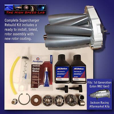 Supercharger Complete Rebuild Kit fits Eaton Jackson Racing Eaton Supercharger