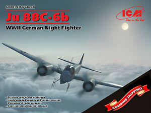 ICM-48239-Ju-88-6b-WWII-German-Night-Fighter-Plastic-model-kit-1-48