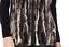 Susan-Graver-Faux-Fur-Zip-Front-Vest-Small-Black-Grey thumbnail 3