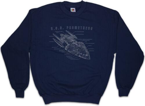 Blueprint Prométhée USS FEDERATION Sweatshirt Pull Star Trek Enterprise