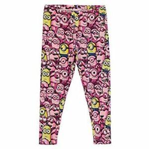 Meprisable-Me-Minion-Rose-Filles-Enfants-Pantalon-Leggings-Taille-9-10-ans-A543-4