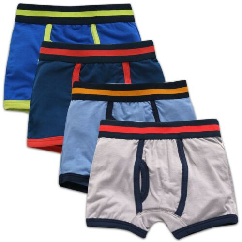 "Vaenait Baby Kids Boys Boxer Brief Underwear Set /""Color band/"" 2T-7T 4 in 1 set"
