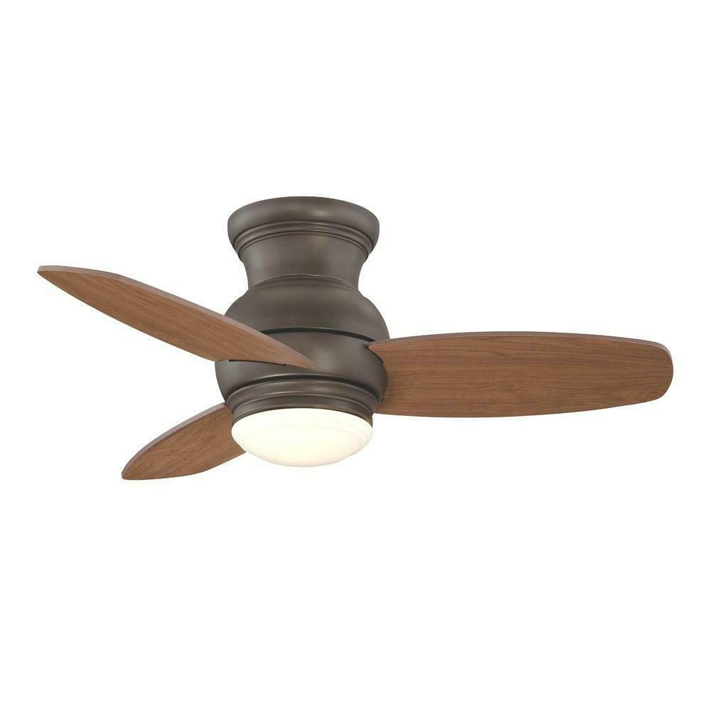 Allen Roth Ceiling Fan With Light Kit 32 Dark Oil Rubbed Bronze 4 Blades For Sale Online Ebay
