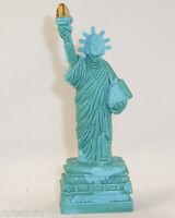 Souvenir Metal Building Statue Of Liberty Green