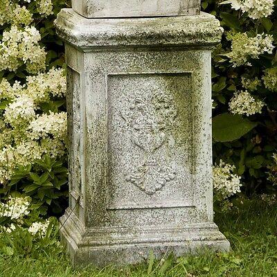 "Fiberglass-27/"" H Graces Pedestal for Garden Urn//Pot//Statue Display by Orlandi"