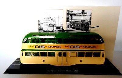 Editions Atlas Tram  Scale 1//87 Be 47//4 Standardwagen SWP//SAAS 1952 n.2519009