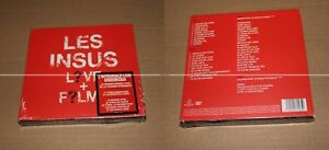 LES-INSUS-LIVE-FILMS-DIGIPACK-2-CDs-2-DVDs-LIMITED-SOLD-OUT-COLLECTOR