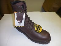 Roadmate Men's 8 Flexible Brown Flex Electric Shock Resistant Work Boots 402h